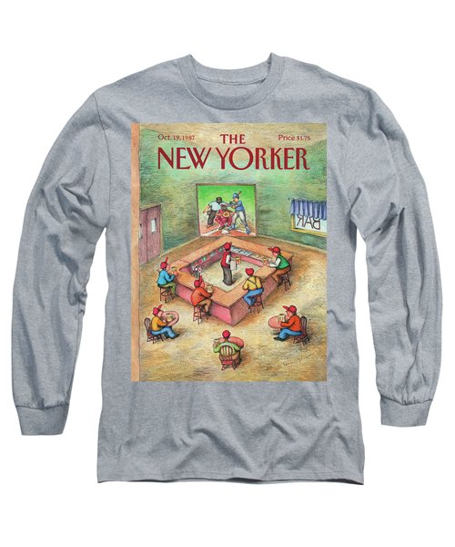 New Yorker October 19th, 1987 Long Sleeve T-Shirt