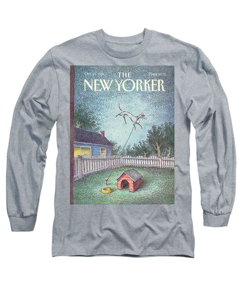 New Yorker October 21st, 1991 Long Sleeve T-Shirt