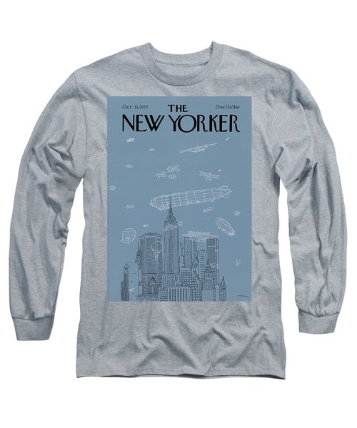 New Yorker October 31st, 1977 Long Sleeve T-Shirt