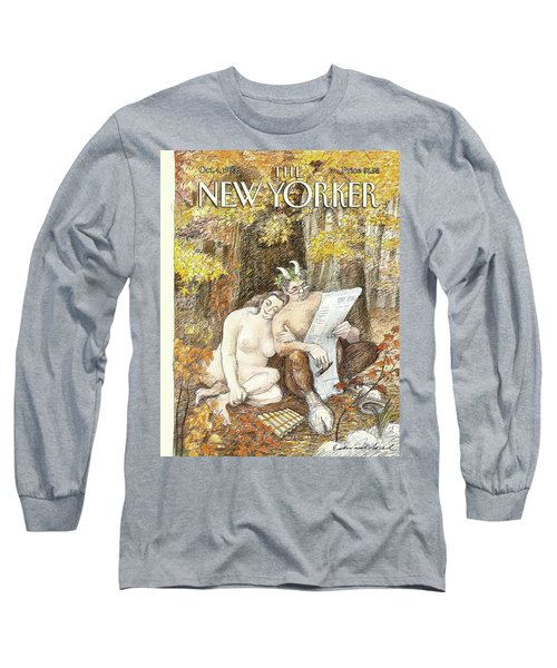 New Yorker October 4th, 1993 Long Sleeve T-Shirt