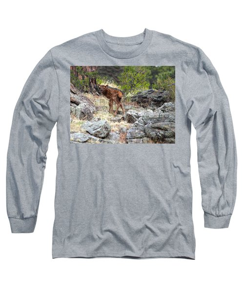 Newborn Elk Calf Long Sleeve T-Shirt