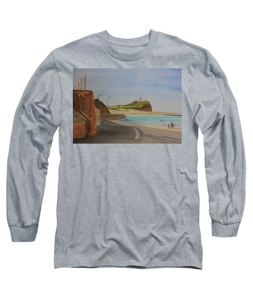 Newcastle Nsw Australia Long Sleeve T-Shirt by Tim Mullaney