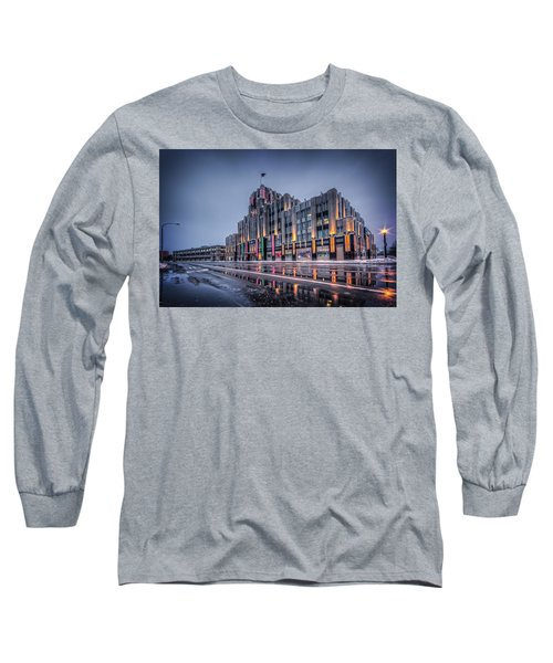 Niagara Mohawk Syracuse Long Sleeve T-Shirt by Everet Regal