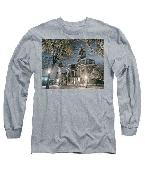 Night Court Long Sleeve T-Shirt by William Beuther