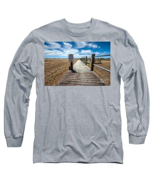 No Diving Long Sleeve T-Shirt