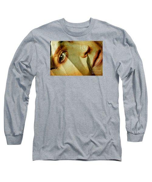 No More Long Sleeve T-Shirt by Michael Cinnamond