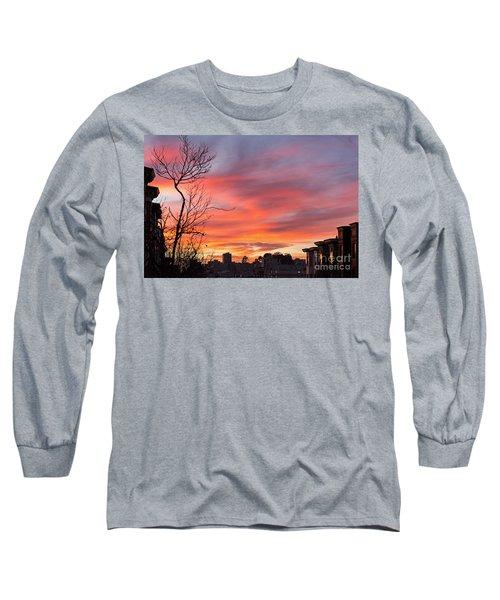 Nob Hill Sunset Long Sleeve T-Shirt