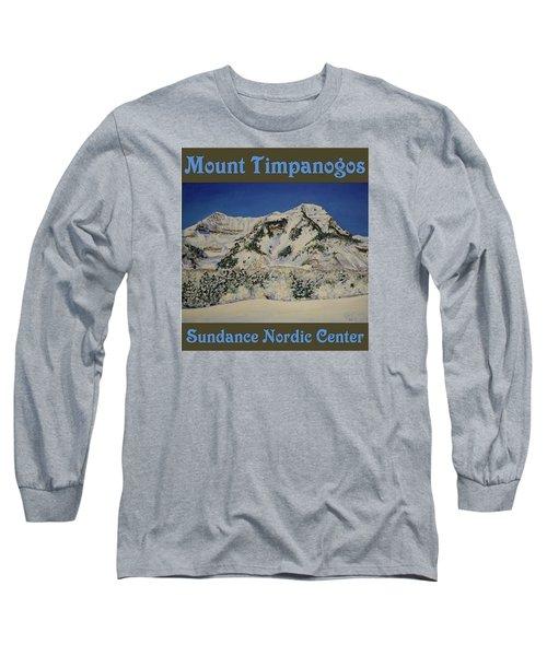 Nordic Timpanogos Poster Long Sleeve T-Shirt