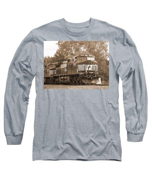 Norfolk Southern Freight Train Long Sleeve T-Shirt