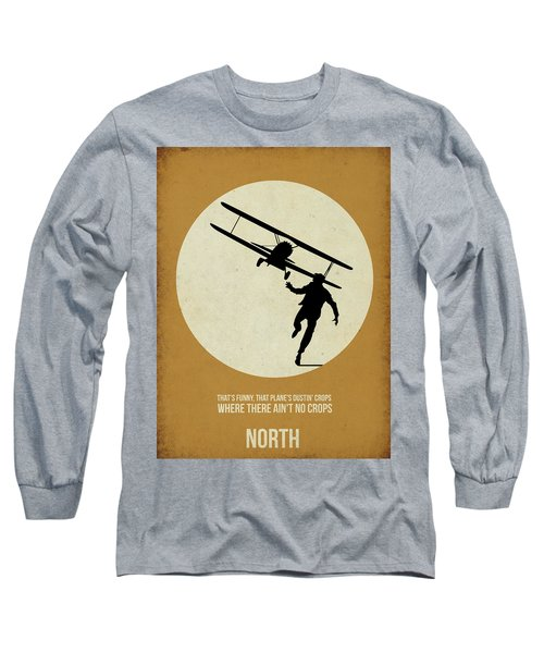 North By Northwest Poster Long Sleeve T-Shirt