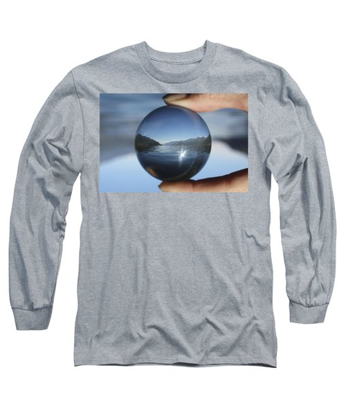 North Long Sleeve T-Shirt by Cathie Douglas