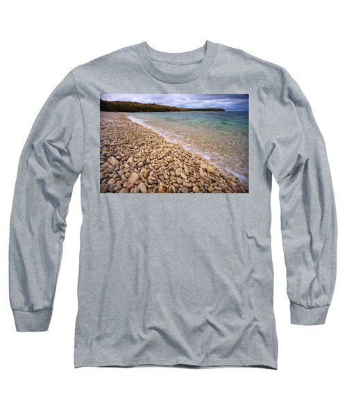 Northern Shores Long Sleeve T-Shirt by Adam Romanowicz
