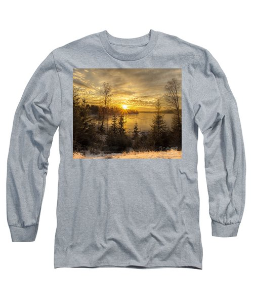 Long Sleeve T-Shirt featuring the photograph Norway Hedmark by Rose-Maries Pictures