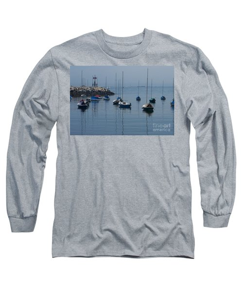 Long Sleeve T-Shirt featuring the photograph Sail Boats  by Eunice Miller