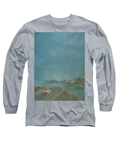 Long Sleeve T-Shirt featuring the painting Nova Scotia Fog by Judith Rhue
