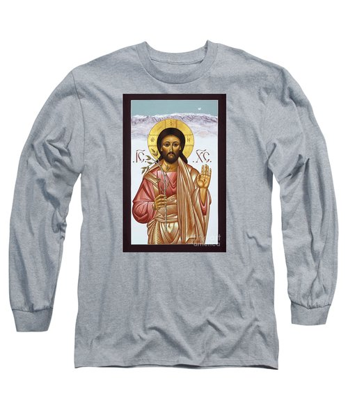 Nuestro Salvador De Las Sandias 012 Long Sleeve T-Shirt by William Hart McNichols