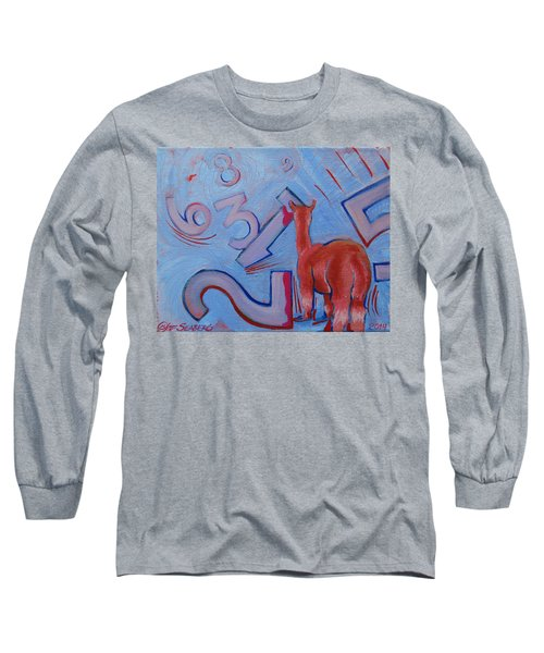 Numbers? Long Sleeve T-Shirt