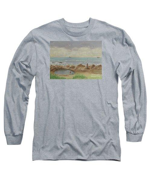 Nuns Pool Below Flagstaff Hill Long Sleeve T-Shirt