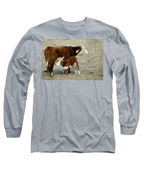 Nursing Calf Long Sleeve T-Shirt