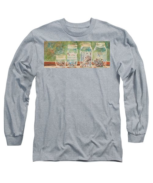 Nuts And Bolts Impression Long Sleeve T-Shirt