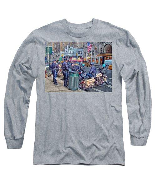 Nypd Highway Patrol Long Sleeve T-Shirt