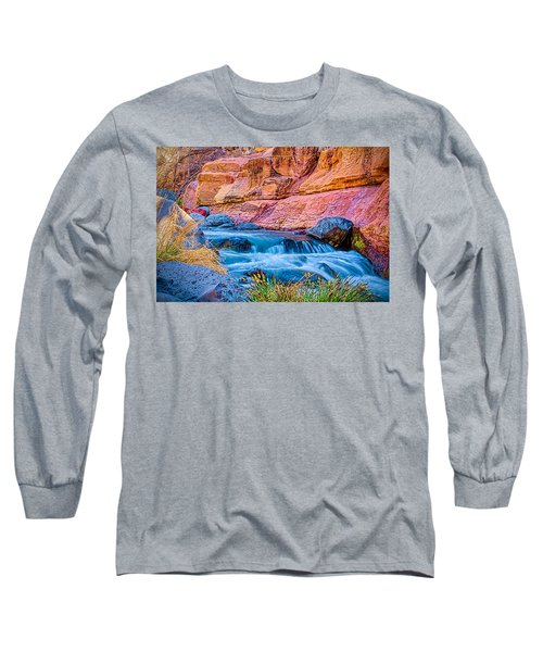 Oak Creek In The Spring Long Sleeve T-Shirt by Fred Larson