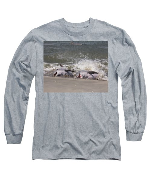 Observing Calf Long Sleeve T-Shirt