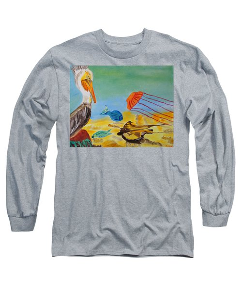 Observing Options Long Sleeve T-Shirt by Meryl Goudey