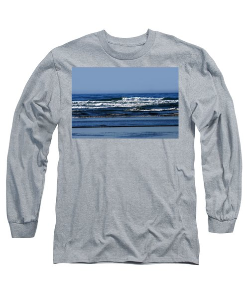 Ocean Blue Long Sleeve T-Shirt
