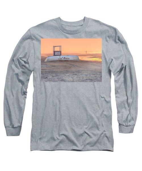 Ocean City Beach Patrol Long Sleeve T-Shirt by Lori Deiter