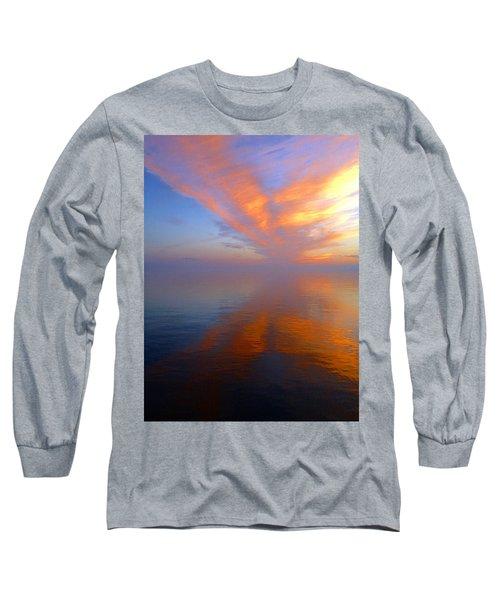 Ocracoke Nc Sunrise Long Sleeve T-Shirt