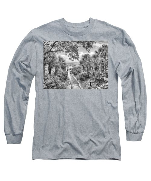 Long Sleeve T-Shirt featuring the photograph Off To The Beach by Howard Salmon