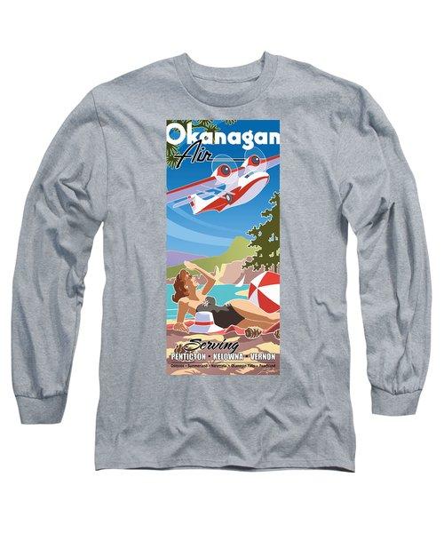 Okanagan Air, Mid Century Fun Long Sleeve T-Shirt