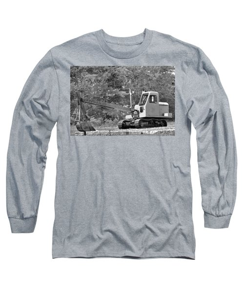 Old Backhoe Long Sleeve T-Shirt