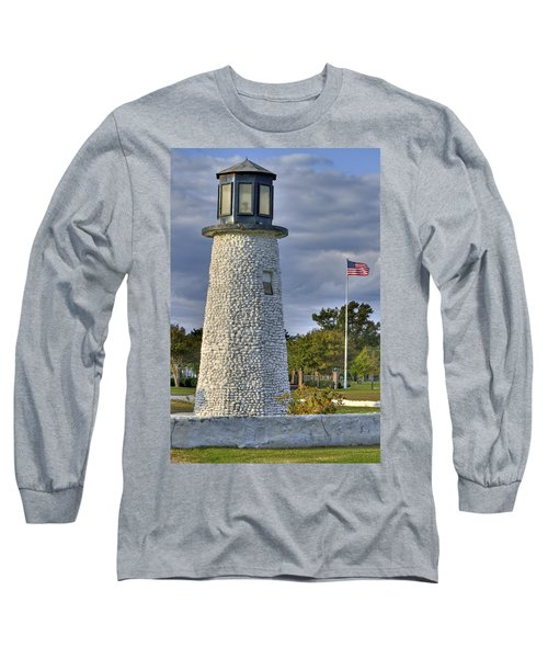 Old Buckroe Lighthouse Long Sleeve T-Shirt