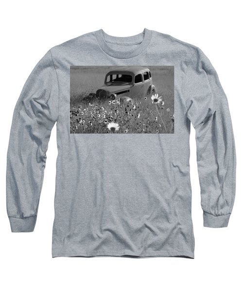 Long Sleeve T-Shirt featuring the photograph Old Car by Leticia Latocki