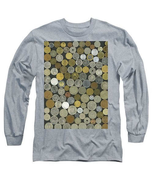 Old Coins Long Sleeve T-Shirt
