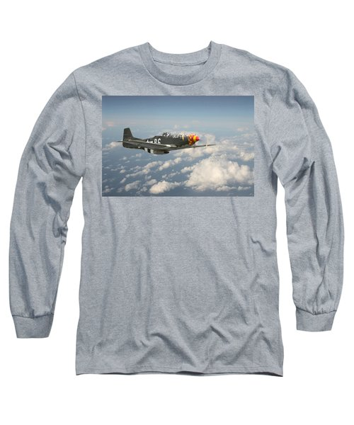 P51 Mustang - 'old Crow' Long Sleeve T-Shirt