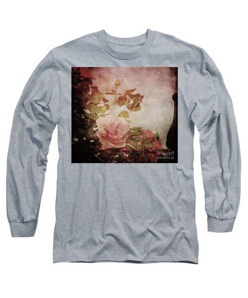 Old Fashion Rose Long Sleeve T-Shirt