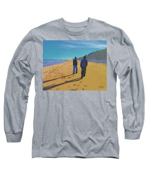 Old Friends Long Shadows Long Sleeve T-Shirt