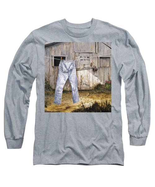 Old Friends Long Sleeve T-Shirt by Michael Humphries