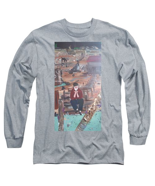 Old Man Long Sleeve T-Shirt