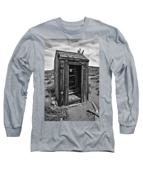 Old Outhouse Long Sleeve T-Shirt