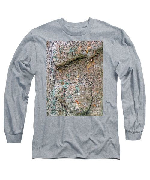 Long Sleeve T-Shirt featuring the photograph Old Soul Sycamore Tree by Joan Hartenstein