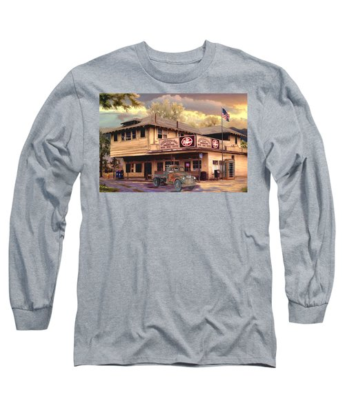 Old Town Irvine Country Store Long Sleeve T-Shirt