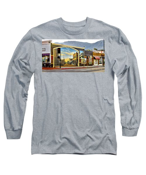 Old Town Mural Long Sleeve T-Shirt
