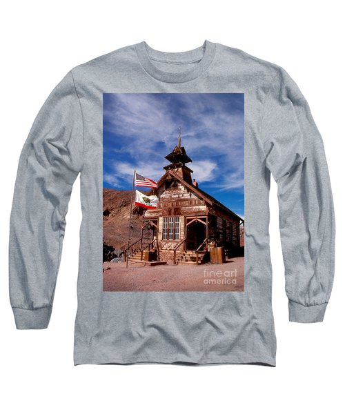 Old West School Days Long Sleeve T-Shirt
