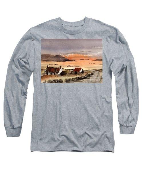 Omey Island Sunset Galway Long Sleeve T-Shirt
