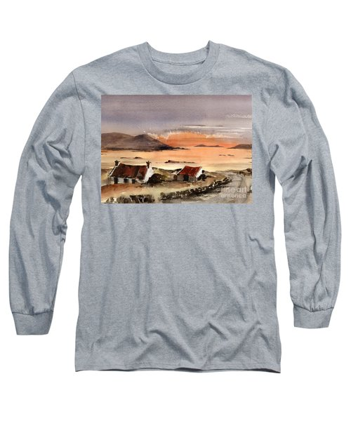 Omey Island Sunset Galway Long Sleeve T-Shirt