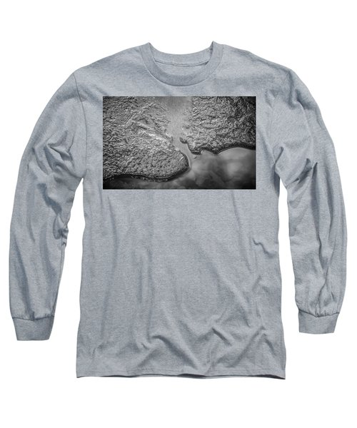 On Frozen Pond Collection 1 Long Sleeve T-Shirt by Roxy Hurtubise
